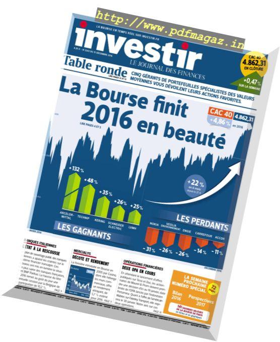 investir - 31 Decembre 2016
