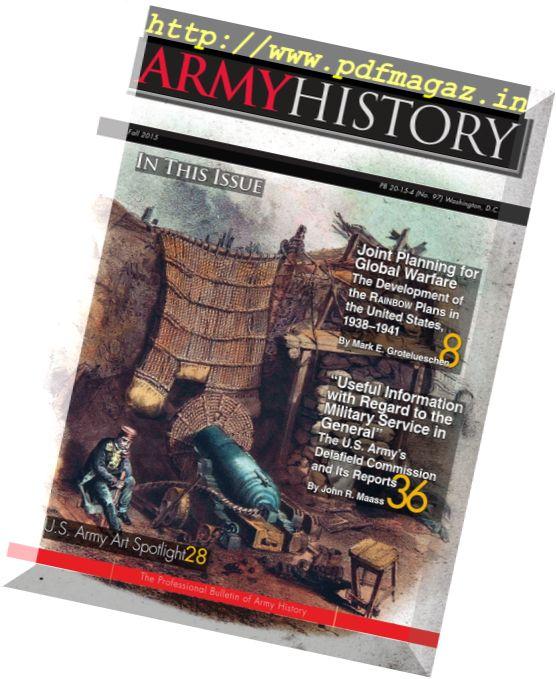 Army History - Fall 2015
