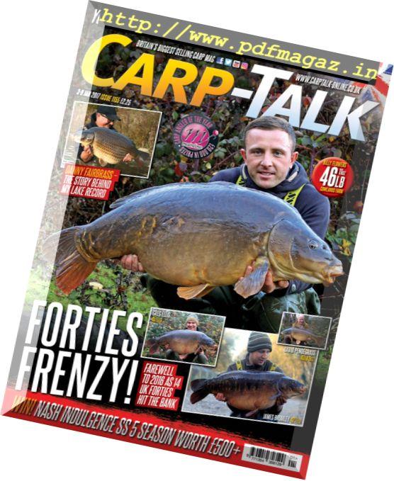 Carp-Talk - 3 January 2017