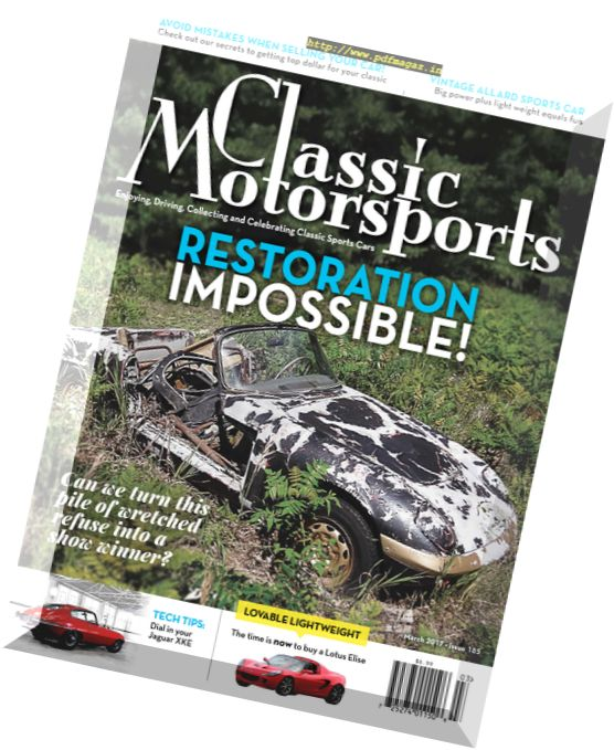 Classic Motorsports - March 2017