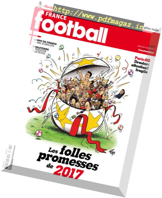 France Football - 4 Janvier 2017