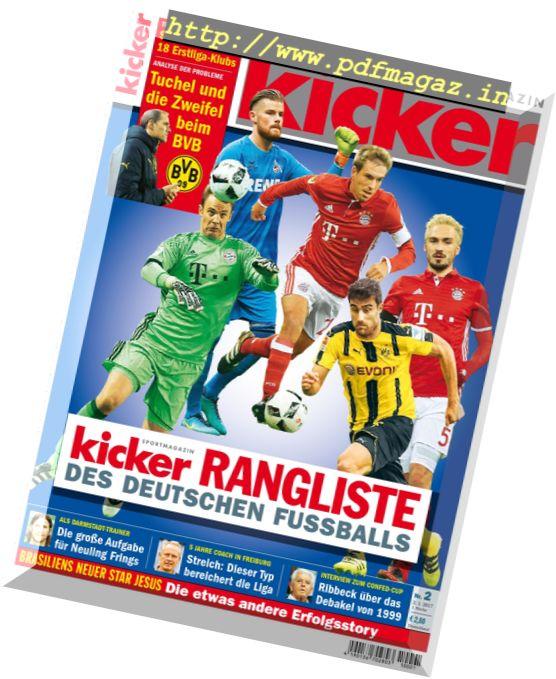 Kicker - 2 Januar 2017