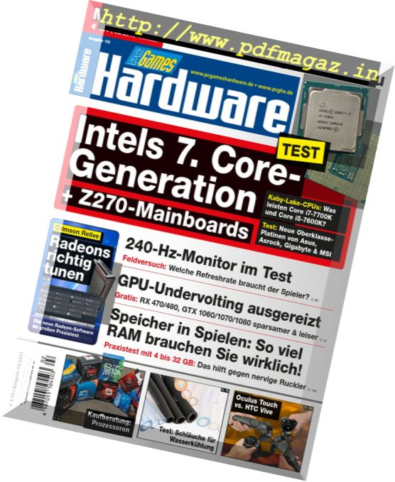 PC Games Hardware - Februar 2017