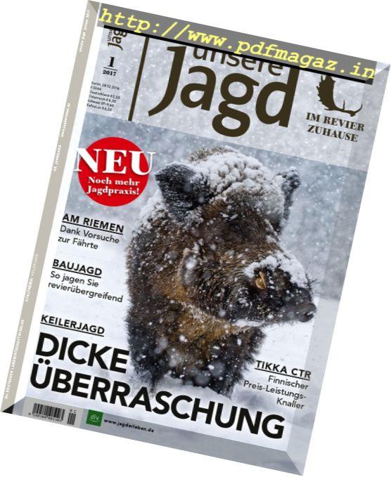 Unsere Jagd - Januar 2017