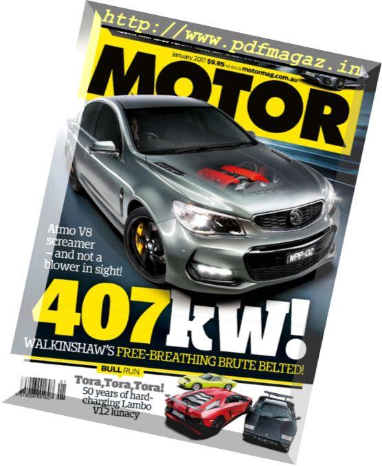 Motor Magazine Australia - January 2017