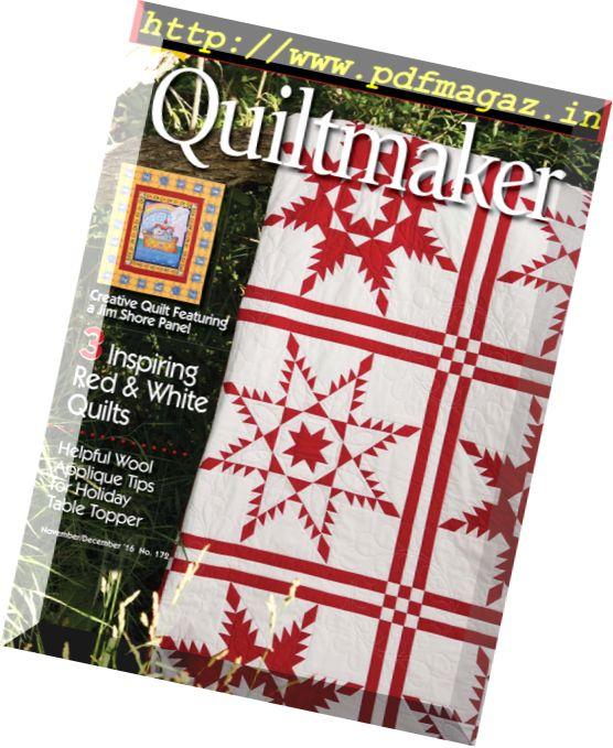 Quiltmaker - November-December 2016