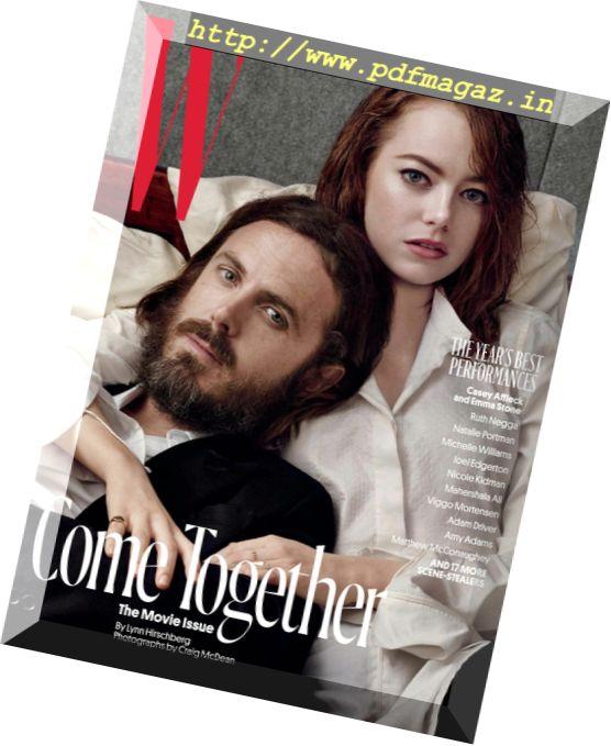 W Magazine - February 2017