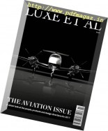 Luxe et al Magazine - The Aviation Issue 2017