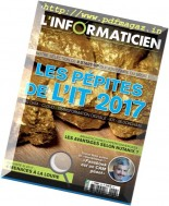 L'Informaticien - Janvier 2017
