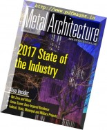 Metal Architecture - January 2017