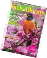 Birds & Blooms - February-March 2017