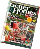 Better Homes and Gardens Australia - February 2017
