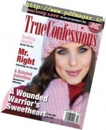 True Confessions - February 2017