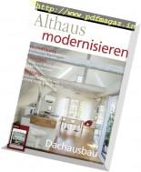 Althaus Modernisieren - Februar-Marz 2017