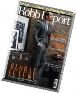 Robb Report Singapore - January 2017