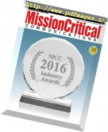 Mission Critical Communications - November-December 2016