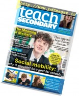 Teach Secondary - Volume 6 Issue 1 2017
