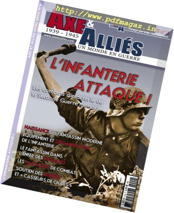 Axe & Allies - Hors Serie N 2, L'Infanterie Attaque!