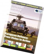 European Defence Matters - Issue 12, January 2017