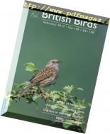 British Birds - February 2017