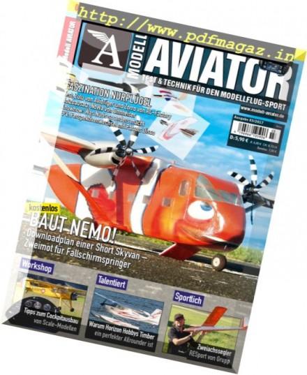 Modell Aviator – Marz 2017
