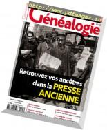 La Revue Francaise de Genealogie - Fevrier-Mars 2017