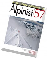 Alpinist Magazine - Spring 2017