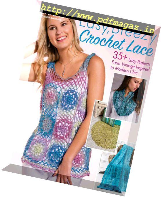 Картинки по запросу Crochet! - Easy, Breezy Crochet Lace 2017