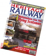 Heritage Railway - Issue 1, May 1999