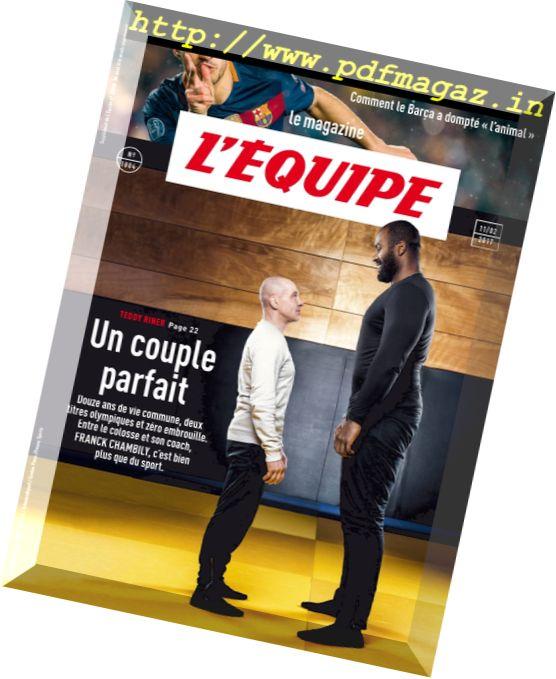 L'equipe Magazine - 11 Fevrier 2017
