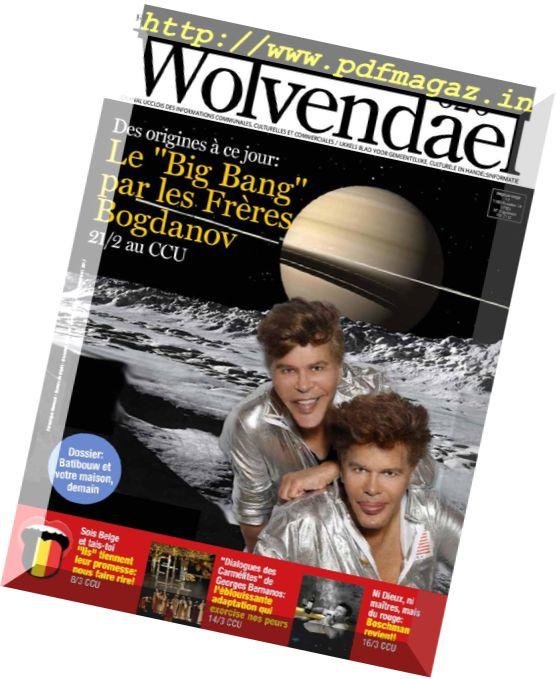 Wolvendael Magazine – Fevrier 2017