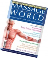 Massage World - Issue 95, 2017