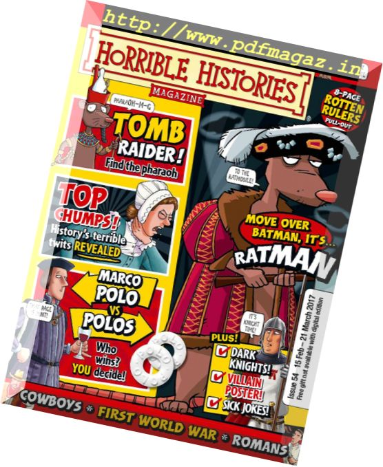 Horrible Histories – Issue 54, 15 February 2017