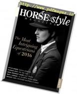 Horse & Style Magazine - January-February 2017