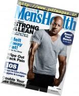 Men's Health Australia - March 2017