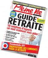 Pleine Vie - Hors-Serie N.36 - Retraite 2017