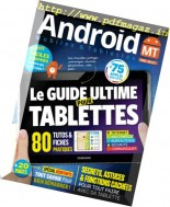 Android Mobiles & Tablettes - Mars-Mai 2017