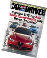 Car and Driver USA - March 2017