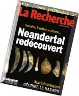 La Recherche - Mars 2017
