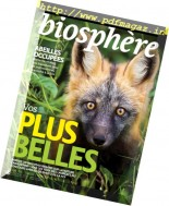 Biosphere - Janvier-Fevrier 2017