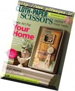 Cloth Paper Scissors - March-April 2017