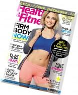 Health & Fitness UK - April 2017