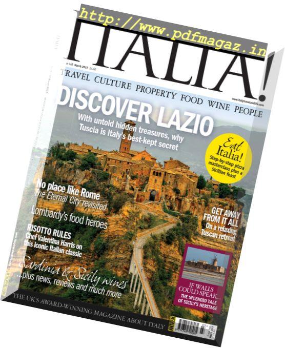 Italia! Magazine – March 2017