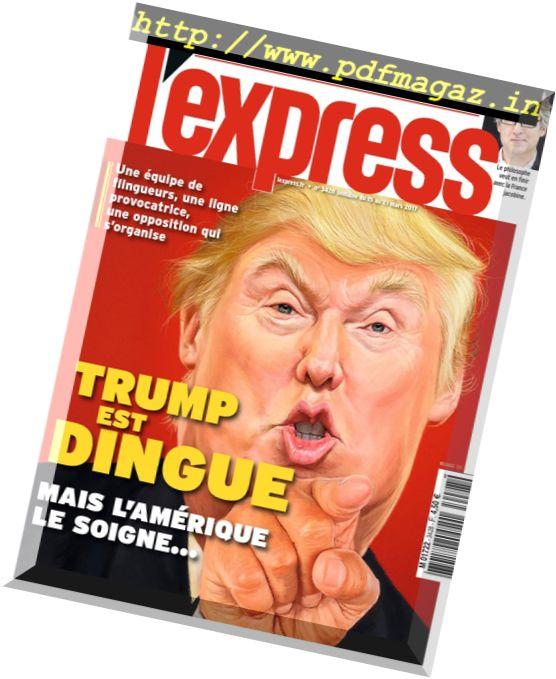 L'Express - 15 au 21 Mars 2017