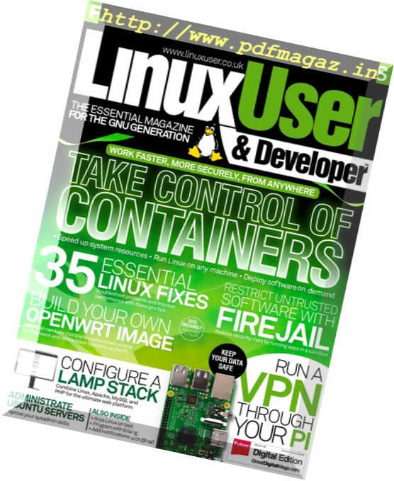 Linux User & Developer - Issue 176, 2017