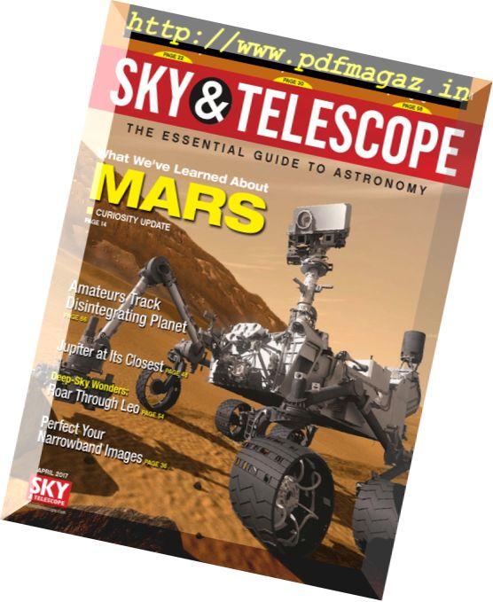 Sky & Telescope - April 2017
