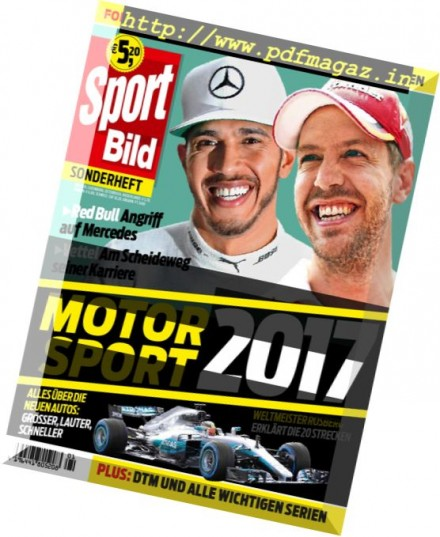 download sport bild sonderheft formel 1 2017 pdf magazine. Black Bedroom Furniture Sets. Home Design Ideas