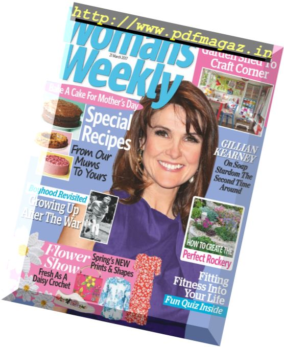 Woman's Weekly UK - 21 March 2017