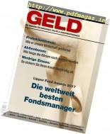 Geld Magazine - Marz 2017