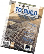 To Build Magazine - March-June 2017